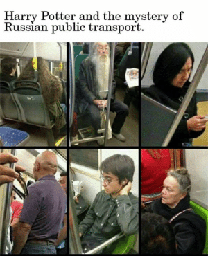 Dank, Harry Potter, and Russian: Harry Potter and the mystery of  Russian public transport  02