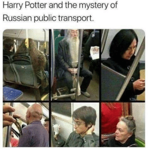 Harry Potter and the gulag of secrets: Harry Potter and the mystery of  Russian public transport. Harry Potter and the gulag of secrets