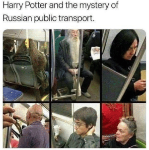 Harry Potter, Reddit, and Russian: Harry Potter and the mystery of  Russian public transport. You're a commie harry