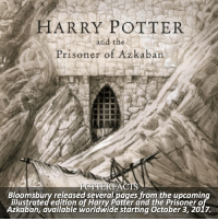 NEWS | Snitch Seeker ⠀⠀⠀⠀⠀⠀⠀⠀⠀⠀⠀⠀⠀ — I am so excited for this! PoA is my favorite book in the whole series and I can't wait to buy this. Although I want to own all of them, this will be my first one I buy! ⠀⠀⠀⠀⠀⠀⠀⠀⠀⠀⠀⠀⠀— Q: What's your favorite HP book? harrypotter news: HARRY POTTER  and the  Prisoner of Azkaban  FAC  Bloomsbury released severakpages from the upcomin  illustrated edition of Harry Potter and the Prisonero  Azkaban, available worldwide starting October 3, 2017. NEWS | Snitch Seeker ⠀⠀⠀⠀⠀⠀⠀⠀⠀⠀⠀⠀⠀ — I am so excited for this! PoA is my favorite book in the whole series and I can't wait to buy this. Although I want to own all of them, this will be my first one I buy! ⠀⠀⠀⠀⠀⠀⠀⠀⠀⠀⠀⠀⠀— Q: What's your favorite HP book? harrypotter news