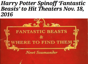 silverlupis:  nerdette-with-the-top-hat:  lumos5001:  POTTERHEADS WE HAVE A RELEASE DATE!!! THIS IS NOT A DRILL!!! WE HAVE A RELEASE DATE!!! [x]    thought you ought to know   *cue screaming*: Harry Potter Spinoff Fantastic  Beasts' to Hit Theaters Nov. 18,  2016   FANTASTIC BEASTS  &  WHERE TO FIND THEM  Newt Scamander silverlupis:  nerdette-with-the-top-hat:  lumos5001:  POTTERHEADS WE HAVE A RELEASE DATE!!! THIS IS NOT A DRILL!!! WE HAVE A RELEASE DATE!!! [x]    thought you ought to know   *cue screaming*
