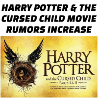 There have been major rumours that Warner Brothers is going to adapt Harry Potter and the Cursed Child into a movie TRILOGY😱Apparently, WB has already contacted Daniel Radcliffe, Emma Watson, and Rupert Grint about reprising the roles. *If* they go ahead with the adaptation, it will most likely be after 2024, since the actors will be old enough, and that is the year that the Fantastic Beasts movies will come to an end. The studio sort of sees it as an opportunity for Harry Potter: The Force Awakens (clarifying: that's not the title, they just mean that it will come back in the same way that Star Wars has)✨ What do you think?✨ As a huge Potterhead, I'm excited. I knew that the movie franchise would never die. Having both read the script and seen the play, I think the plot needs several tweaks for it to properly work as a TRILOGY. I also really want JK Rowling herself to write the script. Let me know what you think in the comments!: HARRY POTTER & THE  CURSED CHILD MOVIE  RUMORS INCREASE  HARRY  POTTER  and the CURSED CHILD  PARTS I & II  A NPW BASED ON AN ORK NAL NTW STORY BY  K ROWLING, MCK THORNE JOHN TRFFANY There have been major rumours that Warner Brothers is going to adapt Harry Potter and the Cursed Child into a movie TRILOGY😱Apparently, WB has already contacted Daniel Radcliffe, Emma Watson, and Rupert Grint about reprising the roles. *If* they go ahead with the adaptation, it will most likely be after 2024, since the actors will be old enough, and that is the year that the Fantastic Beasts movies will come to an end. The studio sort of sees it as an opportunity for Harry Potter: The Force Awakens (clarifying: that's not the title, they just mean that it will come back in the same way that Star Wars has)✨ What do you think?✨ As a huge Potterhead, I'm excited. I knew that the movie franchise would never die. Having both read the script and seen the play, I think the plot needs several tweaks for it to properly work as a TRILOGY. I also really want JK Rowling h