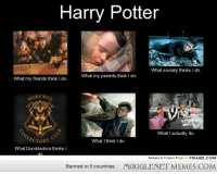 """<p>Sounds about right. <a href=""""http://ift.tt/1fbKMPk"""">http://ift.tt/1fbKMPk</a></p>: Harry Potter  What society thinks I do.  What my parents think I do  What my friends think I do.  MORCRU  What I actually do.  LECTORS  What I think I do.  What Dumbledore thinks I  MEMES & FUNNY PICS  FRABZ.COM  Banned in 0 countries  MUGGLENET MEMES.COM <p>Sounds about right. <a href=""""http://ift.tt/1fbKMPk"""">http://ift.tt/1fbKMPk</a></p>"""