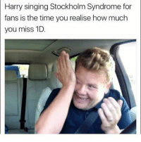 Memes, Singing, and Time: Harry singing Stockholm Syndrome for  fans is the time you realise how much  you miss 1D Honestly