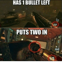 CLICK THAT LIKE BUTTON!❤ Follow @gamiing.memes (me) for more content!👍 - Via: @gamingheaven_ - Partners 🔥@gamiing.revelation 💪@get.noscoped 😎@cod.place 🤓@jaxramse 💯@official.gaming.memes - Use GAMIINGMEMES 👍😎 - ❌Tags (ignore)❌ callofduty battlefield halo xbox battlefield1 cod mwr iw gamingmemes battlefield playstation ps4 gaming pc overwatch destiny memes instagram videogames blackops2 rainbowsixsiege pcgaming xboxone codmemes gta gtav csgo: HAS 1BULLET LEFT  PUTS TWO IN  1840  1840  4400 CLICK THAT LIKE BUTTON!❤ Follow @gamiing.memes (me) for more content!👍 - Via: @gamingheaven_ - Partners 🔥@gamiing.revelation 💪@get.noscoped 😎@cod.place 🤓@jaxramse 💯@official.gaming.memes - Use GAMIINGMEMES 👍😎 - ❌Tags (ignore)❌ callofduty battlefield halo xbox battlefield1 cod mwr iw gamingmemes battlefield playstation ps4 gaming pc overwatch destiny memes instagram videogames blackops2 rainbowsixsiege pcgaming xboxone codmemes gta gtav csgo