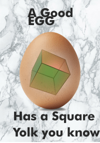 "<p>[<a href=""https://www.reddit.com/r/surrealmemes/comments/8cw3ii/the_benefits_of_selective_breeding/"">Src</a>]</p>: Has a Square  Yolk you know <p>[<a href=""https://www.reddit.com/r/surrealmemes/comments/8cw3ii/the_benefits_of_selective_breeding/"">Src</a>]</p>"