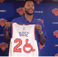 timeless design cf051 b1f14 HAS ROSE CHASEO CHASE D Rose Official New Knicks Jersey ...