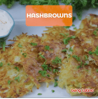 Memes, 🤖, and Crispy: HASHBROWns  being Lotino Deliclios crispy Hashbrows!