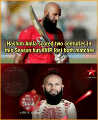 Confused, Memes, and Lost: Hashim Amla scored two centuries in  this Season but KXIP lost both matches  Ia  Confused Aotma  STAR PLUS  UNESCO and voted  me and  10  33 da a 1230 This😂😂😂