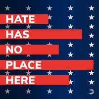 Brave Americans shed their blood to rid our nation of the evil of racism and hatred. We cannot let it infect our country again.  Take a powerful stand against white supremacy and today's dangerous Unite the Right rally >> dems.me/2MjEFSn: HATE  HAS  NO  PLACE  HERE Brave Americans shed their blood to rid our nation of the evil of racism and hatred. We cannot let it infect our country again.  Take a powerful stand against white supremacy and today's dangerous Unite the Right rally >> dems.me/2MjEFSn