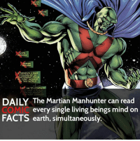 Memes, The Martian, and Despair: HATE  OD  EVIL.  HOPE.  DESPAIR,  HUMAN  NATURE.  AMPARADOx I  STRUGGLED TO  COMPREHEND FROM  MY FIRST MOMENT  ON THIS WORLD.  AM TO CONTIN  TO HAVE A PLAC  AMONG HUMANITY  THIS MUST CHANGE  The Martian Manhunter can read  every single living beings mind on  FACTS earth, simultaneously. Who is your favorite out of the 7? • Follow my other account @wallcrawlerfacts