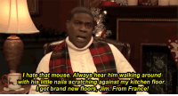 """Christmas, Target, and Tracy Morgan: hate that mouse. Always hear him walking around  with his little nails scratchingagainst my kitchen floor.  got brand newfloors,Jim. From France! <p>It's technically Christmas morning, but…</p> <p>[<a href=""""http://www.buzzfeed.com/whitneyjefferson/tracy-morgan-reads-twas-the-night-before-christma"""" target=""""_blank"""">via</a>]</p>"""