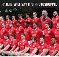 Memes, Rugby, and Got: HATERS WILL SAY IT'S PHOTOSHOPPED  MEMES  Ufe  gandard Ufe  West Tents  Standard ute  andard Li  Sevestments  Westments  Nestmen  standad Lute  LIf  investments You got some competition Farrell ✊🏼🦁 AndyGoodeForPM rugby andygoode LionsNZ2017