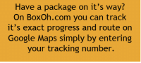 RT @TheDIYHacks:: Have a package on it's way?  On BoxOh.com you can track  it's exact progress and route on  Google Maps simply by entering  your tracking number. RT @TheDIYHacks: