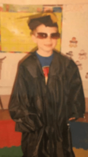 Have a photo of me from pre-school circa 2007-2008. It was here that I became the weirdo I am today.: Have a photo of me from pre-school circa 2007-2008. It was here that I became the weirdo I am today.