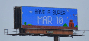 Super, Mar, and Have: HAVE A SUPER  MAR 13  1000