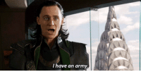 Gif, Lol, and Army: have an army. i have...