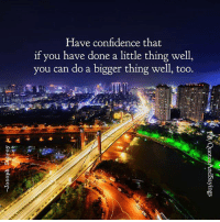 Have Confidence