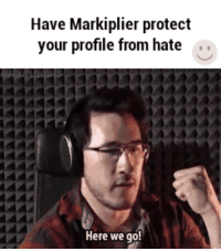 Life, Never, and Been: Have Markiplier protect  your profile from hate ..  Here we go! <p>i have never been this scared in my life</p>