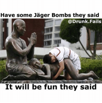 Double tap for Jäger Bombs! Tag some horny Drunks😉😂👍 fail video vine meme drunk: Have some Jager Bombs they said  Drunk Fails  It will be fun they said Double tap for Jäger Bombs! Tag some horny Drunks😉😂👍 fail video vine meme drunk