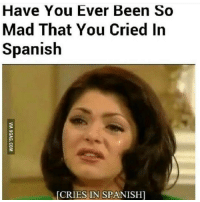 mood: Have You Ever Been So  Mad That You Cried In  Spanish  IES IN SPANISHI mood