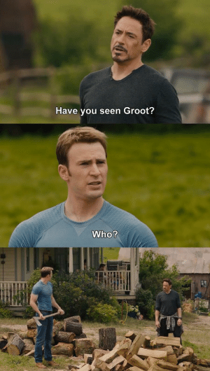 Funny, Via, and You: Have you seen Groot? Oops via /r/funny https://ift.tt/2wFYf2d