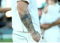 Memes, Tattoos, and Tattoo: Have you seen the tattoo Matthew Wade has on his forearm?