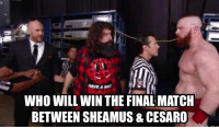 """CRUNCH TIME  Sheamus vs Cesaro. It's not the main event, it's not the match that is foremost in the minds of most fans, but to me it's the most personal – because it's the one I put myself on the line the most for. You have to go back a couple months, back to maybe the second show after the draft, but if I had to point to a moment that would define my role as general manager, I would point to the backstage interaction with Sheamus and Cesaro, where I challenge them to go out in the ring and prove me wrong; for Sheamus to prove he could get his head back in the game, and for Cesaro to prove he did in fact deserve to be picked far higher in the draft than he had been. That was the moment I decided the difference between me doing the job and someone else doing the job was that I was going to try to use my time on camera to occasionally explain the inexplicable and do my best to ensure that, every once in a while, the talent I interacted with depart those interactions JUST A LITTLE BIT BETTER OFF than before they entered it. I remember walking out of my office and encountering longtime WWE referee Scott Armstrong, Who had grown up with the wrestling business in his blood, and I don't me since 1989. """"THAT was a good promo, Mick"""" he said. """"That was a good promo.""""   Being the GM of #Raw is much trickier than one might assume. If you think the answer is as simple as """"push Cesaro"""", then you don't really know what this role entails. Sometimes the best I can do is speak 100% truth about talents I believe in like Sheamus and Cesaro and push for the type of matches that will help them excel - and hope that people will notice. Sheamus is a challenge, because he's so much tougher than the average fan assumes he is, with one of the most physical styles of any WWE Superstar of this generation. He is a guy who would have absolutely THRIVED in the attitude era, who would have absolutely LOVED to have been in the original #ECW or some of the classic hard-core stipulation matches of yea"""