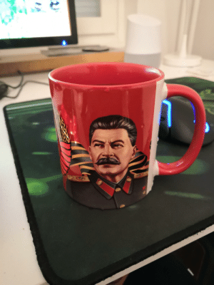 Having a Coffee with my glorious leader: Having a Coffee with my glorious leader