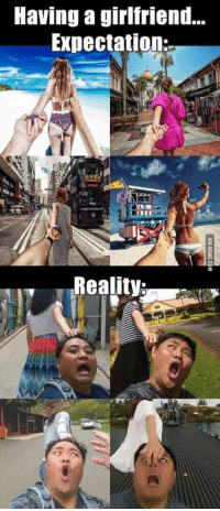 """""""Having a girlfriend: expectation vs. reality."""" #national-girlfriend-day #girlfriend #girlfriend-memes #girlfriend-quotes #memes #quotes Follow us on Pinterest: www.pinterest.com/yourtango: Having a girlfriend...  Expectation;  Reality: """"Having a girlfriend: expectation vs. reality."""" #national-girlfriend-day #girlfriend #girlfriend-memes #girlfriend-quotes #memes #quotes Follow us on Pinterest: www.pinterest.com/yourtango"""
