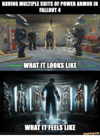 Fallout 4: HAVING MULTIPLE SUITS OF POWER ARMOR IN  FALLOUT 4  EYE  WHAT IT LOOKS LIKE  WHAT IT FEELS LIKE