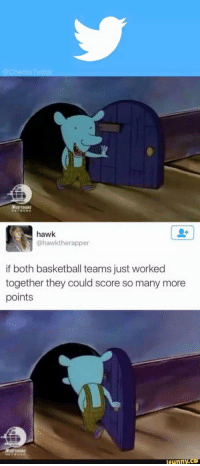 <p>When Bernie Sanders supporters are sports fans.</p>: hawk  @hawktherapper  if both basketball teams just worked  together they could score so many more  points  funny.C <p>When Bernie Sanders supporters are sports fans.</p>
