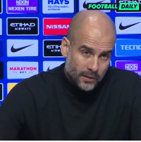 """Being Alone, Family, and Football: HAYS  Recraiting experts  FOOTBALL DAILY  NEXEN TIRE  ETIHWD  AIRWAYS  NISSAR  TECN  AIRW  MARATHON RT @footballdaily: Pep Guardiola on Gabriel Jesus' family   """"He is not alone, City is his family too"""" 🙏 https://t.co/GDoTgRhQrS"""