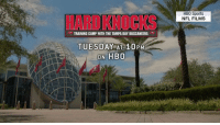 That Bucs kicker competition? It just got very real.  You won't want to miss #HardKnocks. TONIGHT (10pm ET/PT) https://t.co/3EmX1B3ofZ: HB0 Sports  NFL FILMS  HARD KNOCKS  TRAINING CAMP WITH THE TAMPA BAY BUCCANEERS  TUESDAY AT 10PM  ON HBO That Bucs kicker competition? It just got very real.  You won't want to miss #HardKnocks. TONIGHT (10pm ET/PT) https://t.co/3EmX1B3ofZ