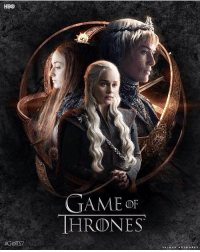 Hbo, Work, and Game: HBO  #GOTS7  GAME OF  HRONES  SALMAN ART WORK S Season 7 is coming! https://t.co/lxJvEjIyxe