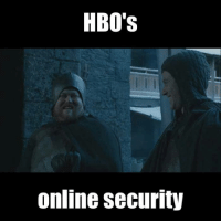 Leaking isn't a pit. Leaking is a ladder.  9gag.com/got?ref=fbpic: HBO's  Online security Leaking isn't a pit. Leaking is a ladder.  9gag.com/got?ref=fbpic