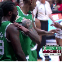 "Funny, Nba, and Bulls: HBullsTalk  017 NBA PLAYOFFS  BOS 83  CHI 54  3rd 3:03 24 Isaiah Thomas screamed ""Its a wrap for these motherfuckers"" while the Celtics were blowing the Bulls out. 👀 https://t.co/9pWERgLDUo"