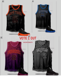 """"""" Vote out the jersey you DON'T want to see Kyrie Irving play in. Tomorrow we will advance to Round 2 🤔 Wherewillkyriego jerseys Designs by the Company @helmetConcepts 🔥🔥🔥🔥🔥🔥🔥🔥🔥🔥🔥🔥: HC  HC  OR  2  2  HC  VOTE 1 OUT  G:HELMETCONCEPTS """" Vote out the jersey you DON'T want to see Kyrie Irving play in. Tomorrow we will advance to Round 2 🤔 Wherewillkyriego jerseys Designs by the Company @helmetConcepts 🔥🔥🔥🔥🔥🔥🔥🔥🔥🔥🔥🔥"""