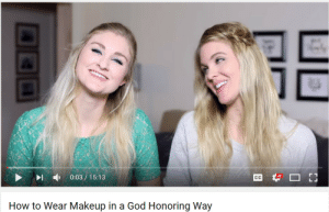 God, Makeup, and Tumblr: HD  0:03/ 15:13  How to Wear Makeup in a God Honoring Way homonurse: