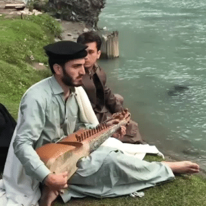 hd-pakistan: A local playing Rubab at Mahodand lake, Swat valley, KPK, Pakistan: hd-pakistan: A local playing Rubab at Mahodand lake, Swat valley, KPK, Pakistan