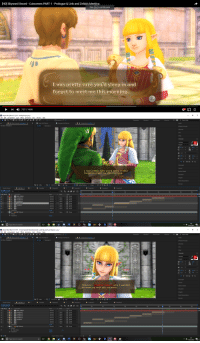 "Adobe, Anaconda, and Target: [HD] Skyward Sword - Cutscenes PART 1 - Prologue & Link and Zelda's Meetina  Press Esc to exit full screen  tu  さ  I was pretty sure you'd sleep in and  forget to meet me this morning  ▶ ▶1 ) 7:27 / 14:00  切57   Adobe After Effects CC 2017- Untitled Projectep  Eile Edit Composition Layer Etfect nimation iew Window Help  □Snapping  30  »  ρ Search Help  Audio  effects & Presets  Small Screen  ■ Layer HQTEztan  HQ TExt Template 2  ■  Effect Controls Template 2  Footage HQ TEzt.avi  G Composition HQ TEzt  HQ TEzt Template 2  Info  Align  Verdana  IT100% ▼ T 100 %  Paragraph  I was pretty sure you'd sleep in and  forget to meet me this morning  Motion Sketch  Mask Interpolation  많모  S0%  0:00:14:12  自  Ful  VER Active Camera v 1View v  0+0.0  v  Render Queue  Template  Template 2  Template 2  Template 3  Template 4  Template S  0:00: 14:12  00852 (60.00 fps)  T TrcMat  None  1 White Solid 1  2 Template 5  3 Template 4  4 Template 3  Normal None None  Normal None None  Normal"". None  Normal LI None 이이 None v1  Normal  Normal None  Normal None None  Reset  Normal-. None ﹀ @ None  @ None  e Template 2  6 Template  None None  @ None  Transform  Effects  Transform  Reset  毛色骨  Switches / Modes  1:02  0  Type here to search  10/12/2017   Adobe After Effects CC 2017- CAUsersipokedVideosZambambo world Skyward Sword Episode 1.aep  Eile Edit Composition Layer Etfect nimation iew Window Help  □Snapping  30  Small Screen  >> GE ρ Search Help  Layer HQ TEzt.avi  HQ TExt Template 2  Effect Controls Template 2  Footage HQ TEzt.avi  G Composition HQ TEzt  Audio  HQ TEzt Template 2  effects & Presets  Info  Align  Verdana  pxY  Auto  IT100% ▼ T 100 %  Paragraph  There's another reason why I wanted  to meet up with you so early.  Motion Sketch  Mask Interpolation  많모  S0%  0:00:36:46  a  Ful  VER Active Camera v 1View v  0+0.0  v  Render Queue  Template  Template 2  Template 2  Template 3  Template 4  Template 5  0:00:36:46  02206 (60.00 fps)  격to全迴@过  T TrcMat  1 White Solid 1  None  2 Template 5  3 Template 4  4 Template 3  s Template 2  6 Template  Normal None None  Normal None None  Normal"".  Normal None None  Normal None None  Normal None  Normal None None  Reset  Normal None None  None None  @ None  Transform  y Effects  Auto Color  Transform  Reset  Toggle Switches/Hodes  O Type here to search  1012/2017 <p><a href=""https://pokedudesfm.tumblr.com/post/166314038590/but-porn"" class=""tumblr_blog"" target=""_blank"">pokedudesfm</a>:</p>  <blockquote><p>But porn</p></blockquote>"