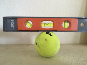 "Tennis companies are lying! Tennis balls are flat!: HDX"" Tennis companies are lying! Tennis balls are flat!"