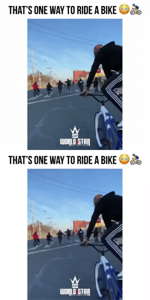 He's crazy for this one! 😯🚴♂️🚘 (via @bikeliferexx) https://t.co/egxYgM7Fzp: He's crazy for this one! 😯🚴♂️🚘 (via @bikeliferexx) https://t.co/egxYgM7Fzp