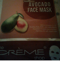 he  AVOCADO  FACE MASK  Rich in Vitam m C E  Healthy Fatty Acids, and tioxidants  Maintains firmness and structute  Hydrates for soft supple skin  Shop MASK CHALLENGE! WHO'S WIT ME?! 30 min....😍 who's the prettiest of all🤔
