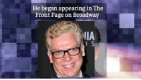 Birthday, McDonalds, and Memes: He began appearing in The  Front Page on Broadway  IIA  D S Happy 62nd Birthday to Christopher McDonald!
