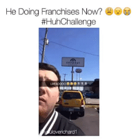 NO ONE IS SAFE 😂😂👏👏 HuhChallenge via @youloverichard1: He Doing Franchises Now?  #HuhChallenge  overichard1 NO ONE IS SAFE 😂😂👏👏 HuhChallenge via @youloverichard1