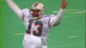 Memes, Nfl, and 🤖: He faked the spike. He threw the pass.  But @DanMarino got this legendary trick from someone else. ? @MiamiDolphins  ?: NFL 100 GREATEST PLAYS |  @NFLNetwork #NFL100 https://t.co/nYf9HP3fhS