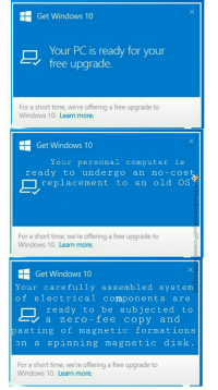 He Get Windows 10 Your Pc Is Ready For V Free Upgrade A Short Time We Re Offering To Learn More Ee Our