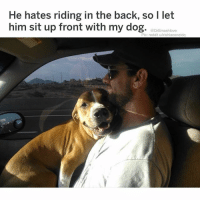 This is precisely the type of savagery I seek in a woman ... ATTA GIRL 🤤😍😂😂😂: He hates riding in the back, so l let  him sit up front with my dog. aDrßmashlox  Pic: reddit u/irishlacenetdq This is precisely the type of savagery I seek in a woman ... ATTA GIRL 🤤😍😂😂😂