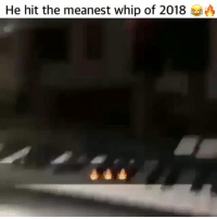 Memes, Whip, and 🤖: He hit the meanest whip of 2018